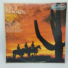 """SONS OF THE PIONEERS """"Wagons West"""" Vinyl 12"""" LP-33 Country Album VG+ Mono 1956"""