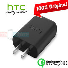 Original OEM HTC Fast Charger Qualcomm 3.0 Quick Charge for HTC 10 9 8 U11 U12