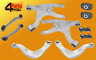 REAR SUSPENSION KIT SET CONTROL ARMS WISHBONE Audi A4 B8 A5 8TA 8T3 Q5 8R 2007