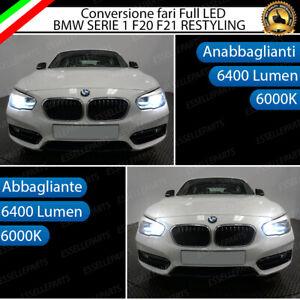 KIT FULL LED BMW SERIE 1 F20 F21 RESTYLING ANABBAGLIANTI + ABBAGLIANTI 6000K