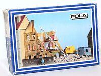 Pola H0 162 Stadthaus im Abbruch (ohne Abbruchbagger und Bauwagen) - NEU + OVP