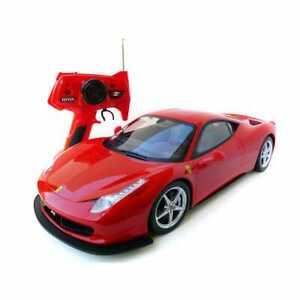 1:10 Ferrari 458 Italia RC Radio Remote Control Battery Vehicle Model Car Toy