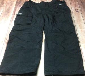 North Face Hyvent Mens Black XXL Snow/Ski Pants Preowned