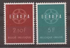 Belgium - 1959 - COB 1111/2 - Scott 536/7 - MNH -