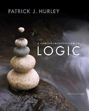 A Concise Introduction to Logic Hurley, HC 10TH EDITION