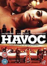 HAVOC Anne Hathaway Bijou Phillips Freddy Rodriguez DVD in Inglese NEW .cp