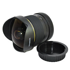 Jintu Super Wide 8mm II F/3.5 Fisheye Len For Canon EOS 1200D 450D 550D 650D 60D