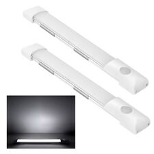2X12V LED Lichtleiste Wandleuchte Deckenlampe Wohnmobil Zwei Phasen Helligkeit