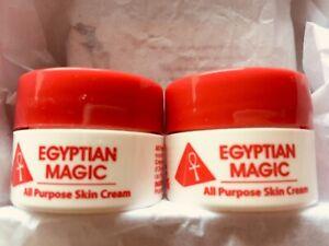 EGYPTIAN MAGIC baume multi usages 100% miel et huile d'olive 2 pot 15 ml neuf