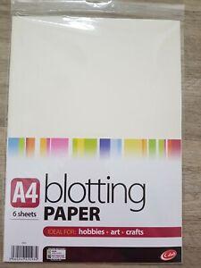 A4 blotting paper