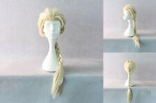Ladieshair Cosplay Wig Perücke Elsa 70cm Karneval Halloween F7T