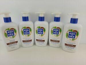 Kiss My Face Moisturizing Soap - Coconut - 9 Oz - 5 Bottles