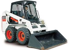 BOBCAT S130 SKID STEER LOADER WORKSHOP SERVICE REPAIR MAINTENANCE & PARTS MANUAL