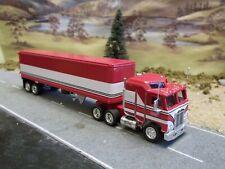 Matchbox BJ & The Bear Truck Kenworth 1:80 Chrome Wheels / Metal Trailer