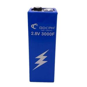 Super Capacitor 2.8V 3000F Low ESR High Frequency For Car Auto Power Supply