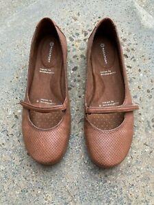 Rockport Adiprene by adidas tan leather ballet flats sz US 8 7.5