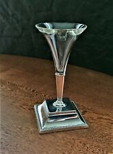 More details for posy holder on a h'marked silver stand, sheff. 1897.