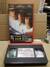 A Few Good Men VHS big box