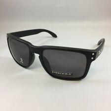 Oakley HOLBROOK Sunglasses OO9102-E855 Matte Black Frame W/ PRIZM Grey Lens