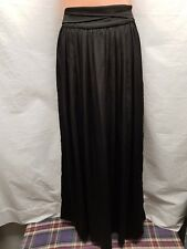 FOREVER NEW LONG BLACK SKIRT SIZE 6 ELEGANT EVENING WEAR