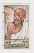(MCO-412) 1969 Mexico 80c Gandhi