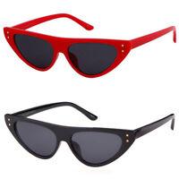 New Classic Cateye Sunglasses Steampunk Small Retro Vintage Women Fashion Shades
