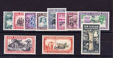 NEW ZEALAND 1940 OFFICIALS COMPLETE SET SG O141-O151 MNH.
