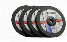 4 Schruppscheiben 180 x 7,0 x 22,23mm/ FLEXOVIT / Industriequalität / Flex