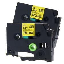 TZ-631 TZe-631  P-touch Label Tape Compatible for Brother Ribbon 12mm x 8m 2PK