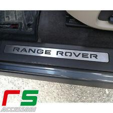 battitacco batticalcagno pedana sottoporta Range Rover Evoque in acciaio inox