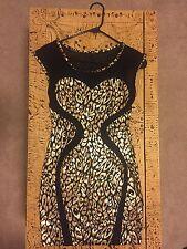 Women's Sleeveless Dress Cheetah Print Symphony S Very Sexy