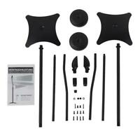 NEW UNIVERSAL SURROUND SOUND SPEAKER STANDS SET OF 2 SATELLITE SPEAKER