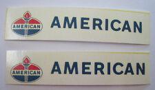 Nylint American Standard water slide decal set