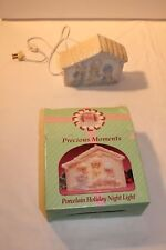 Precious Moments Porcelain Holiday Night Light (Christmas Nativity Scene)