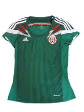 Adidas Dames Mexique Maillot Jersey Vert GR. S (36)