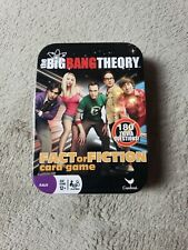 The Big Bang Theory Fact or Fiction Card Game 180 Trivia Questions