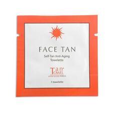 20 PCS TanTowel Face Tan Self-Tanning Towelette -  NEW