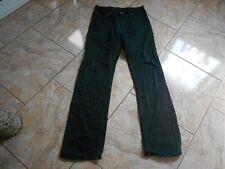 H9003 Levis 752 Jeans W34 L36 Schwarz mit Mängeln