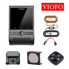 Viofo A129 Duo Front & Rear Lens GPS Wi-Fi Dash Camera+CPL+Hardwire&Fuse+Remote