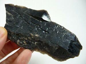 Faden Smoky Quartz Crystals Brazil 80 grams Chakra Reiki Healing 3 piece lot