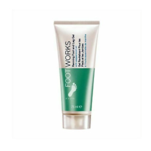 Avon Footworks Reviving Foot & Leg Gel 75ml ~ refreshes tired and aching legs an