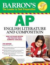 Barron's AP English Literature and Composition with CD-ROM, 4th Edition (Barron'