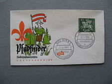 GERMANY BRD, cover FDC 1961, St George scouting