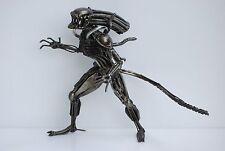 Alien Scrap Metal Sculpture Handmade Scrap Metal Art Xenomorph Alien Cool Gifts