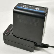 Charger +1x 7800mAh Battery for JVC JVC70 SSL-JVC70 GY-HM600 GY-HM650 Camcorder