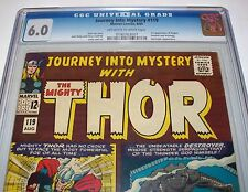 CGC 6.0 JOURNEY INTO MYSTERY #119 with THOR from Aug. 1965 with O-W to W Pages