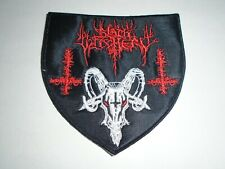 BLACK WITCHERY BLACK/DEATH METAL EMBROIDERED PATCH
