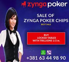 Zynga Poker 200B Trusted Seller 100% Safe Transfer Table