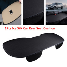 1Pcs Summer Breathable Ice Silk Car Back Seat Covers Cushion Black Protector Pad