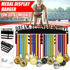 Medal Holder Hanger Display Rack Ideal Gift Home Decor Dream Believe & AU